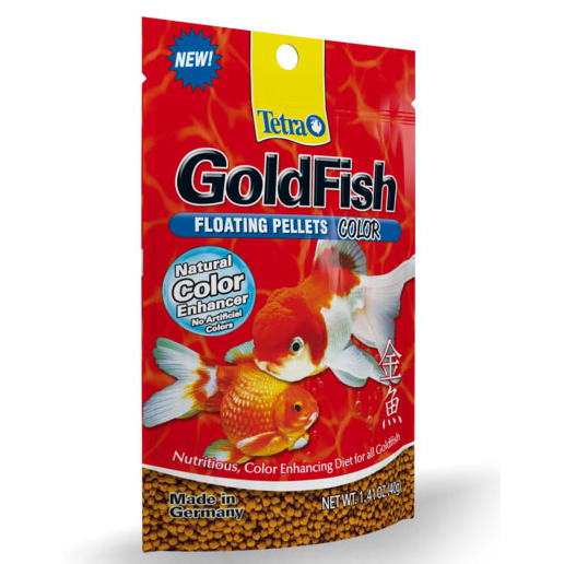 1017050 TETRA GOLDFISH COLOR x 40grs
